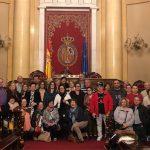 Visita al Senado y el Congreso de las agrupaiones socialistas del Nalón